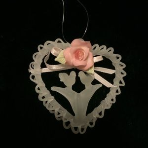 Other - Special Christmas Ornament-Heart/🕊🕊/Rose💕🎄